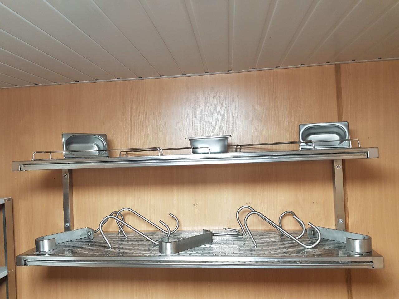 Полка для сушки посуды открытая (800 x 300 x 350) - фотография №1