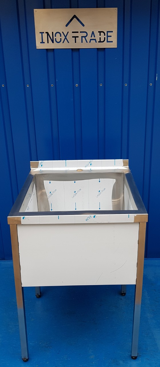 Ванна моечная 1-но секционная сварная 7002 - фотография №3