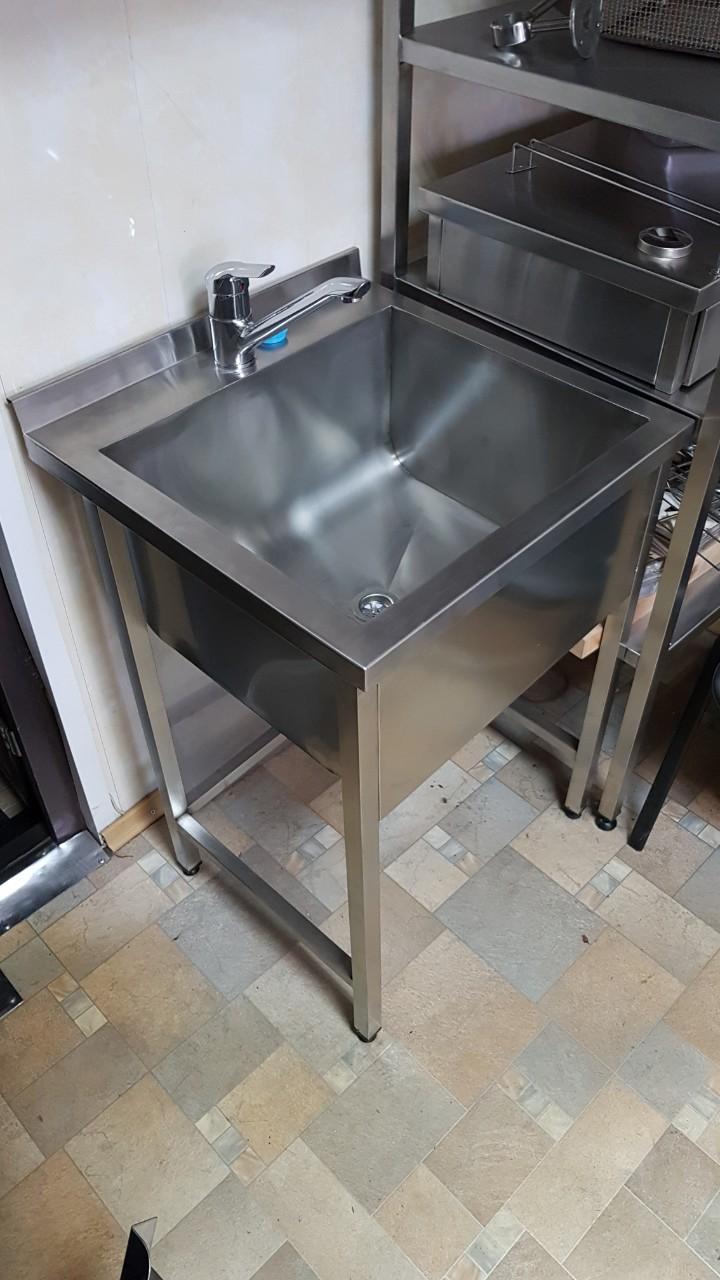 Ванна моечная 1-но секционная сварная 7002 - фотография