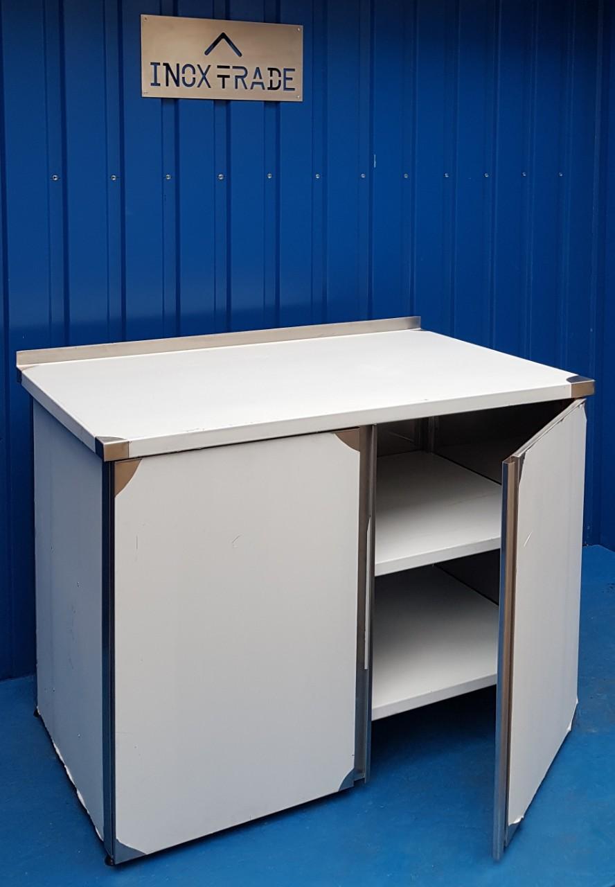 Стол производственный закрытый 1700мм x 600мм x 850мм - фотография №2