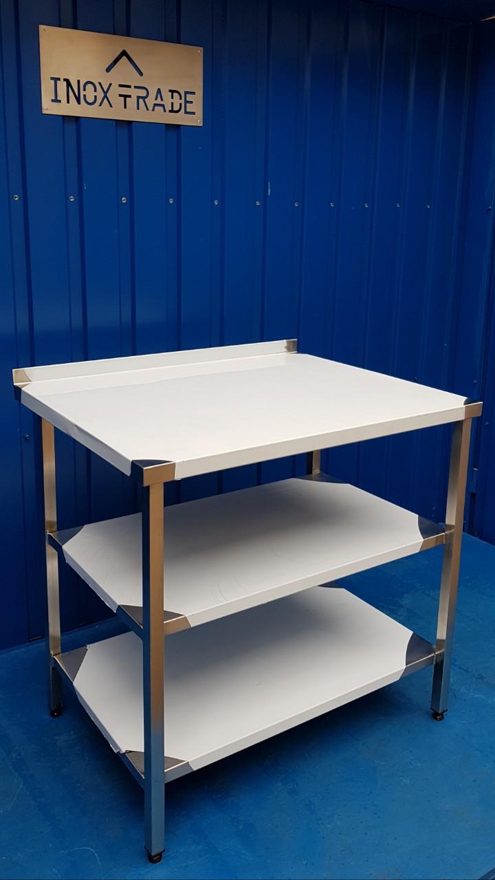 Стол производственный нейтральный 1900мм x 600мм x 850мм - фотография №1