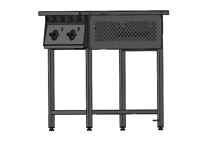 Плита промышленная электрическая 801 - фотография №8