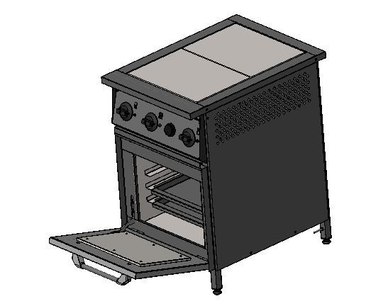 Плита промышленная электрическая 801 - фотография №5