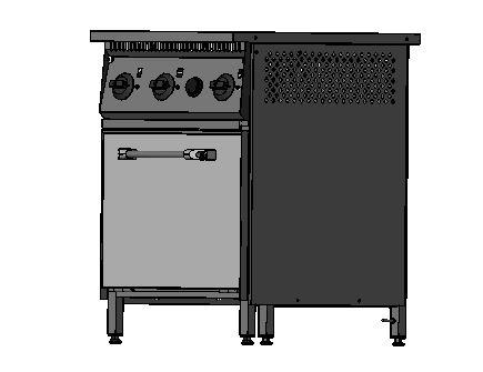 Плита промышленная электрическая 801 - фотография №6