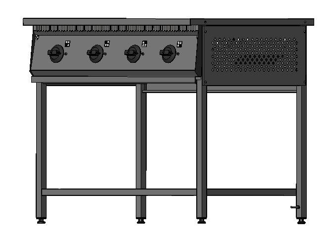 Плита промышленная электрическая 801 - фотография №10