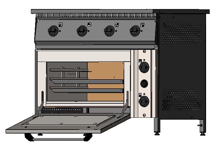 Плита промышленная электрическая 801 - фотография №12