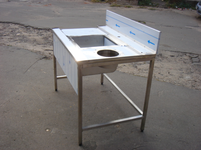 Стол с зацепом к посудомоечной машине 10007 - фотография №3