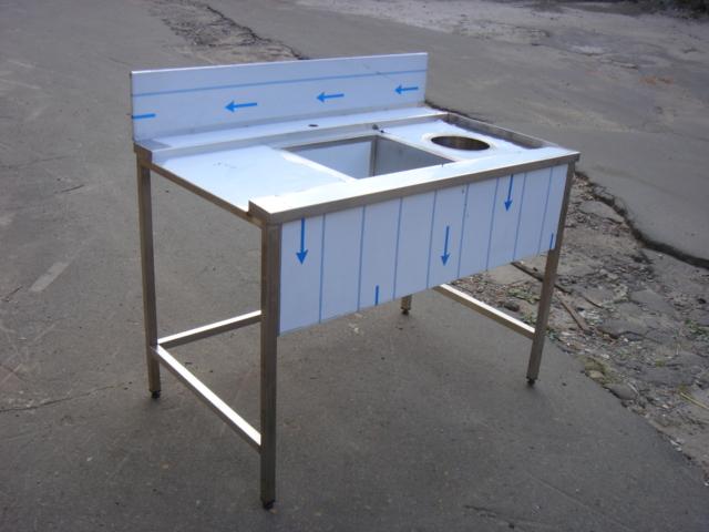 Стол с зацепом к посудомоечной машине 10007 - фотография №4