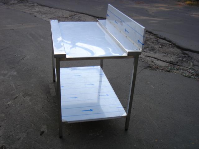 Стол с зацепом к посудомоечной машине 10007 - фотография