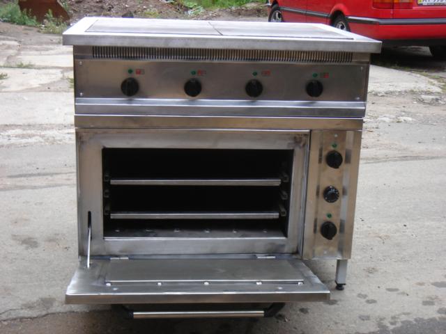 Плита промышленная электрическая 801 - фотография №1