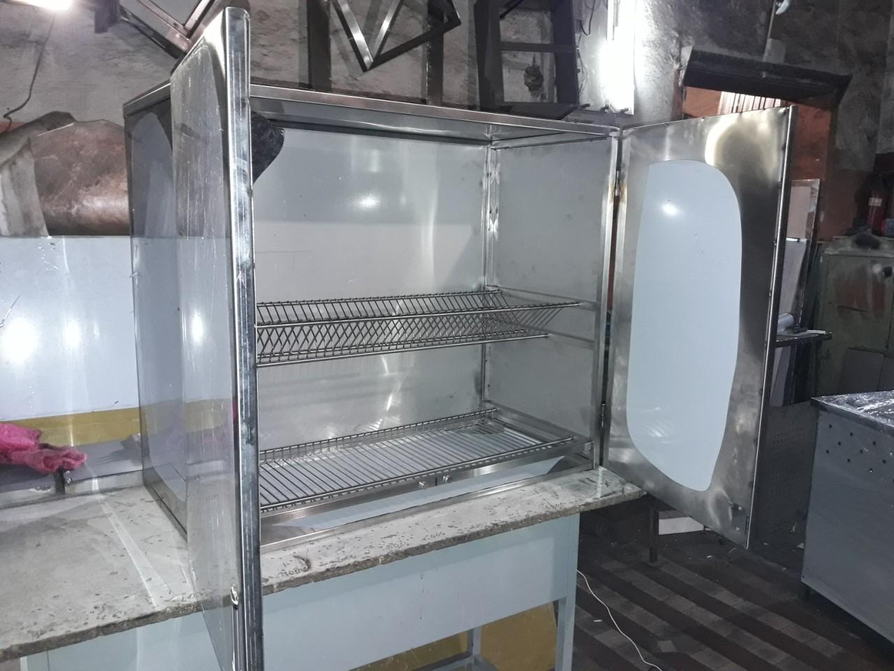 Шкаф производственный (600 x 300 x 600) - фотография №1