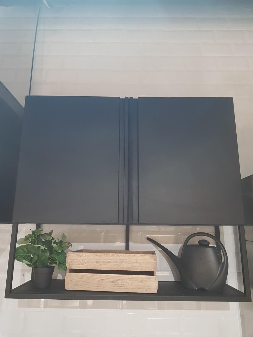 Шкаф навесной закрытый (1100 x 300 x 600) - фотография №3