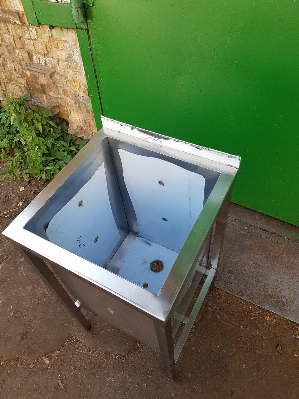 Ванна моечная 1-но секционная сварная 7001 - фотография №1
