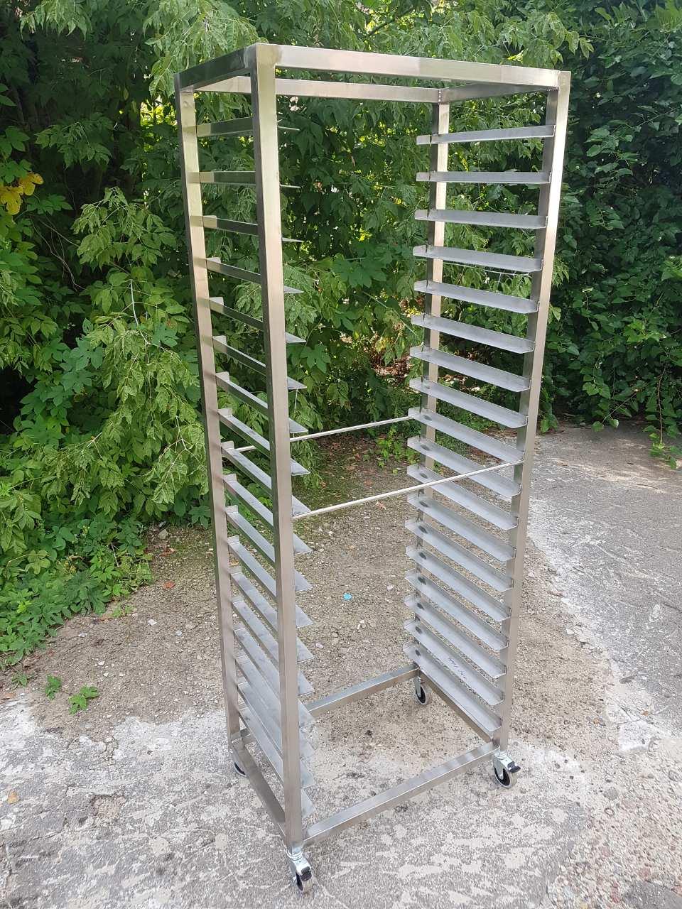 Стеллаж кондитерский (шпилька) под противни 9005 - фотография №1