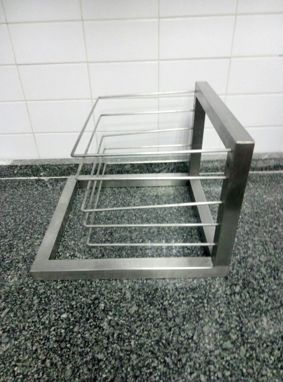 Полка для сушки посуды открытая 401 - фотография №2