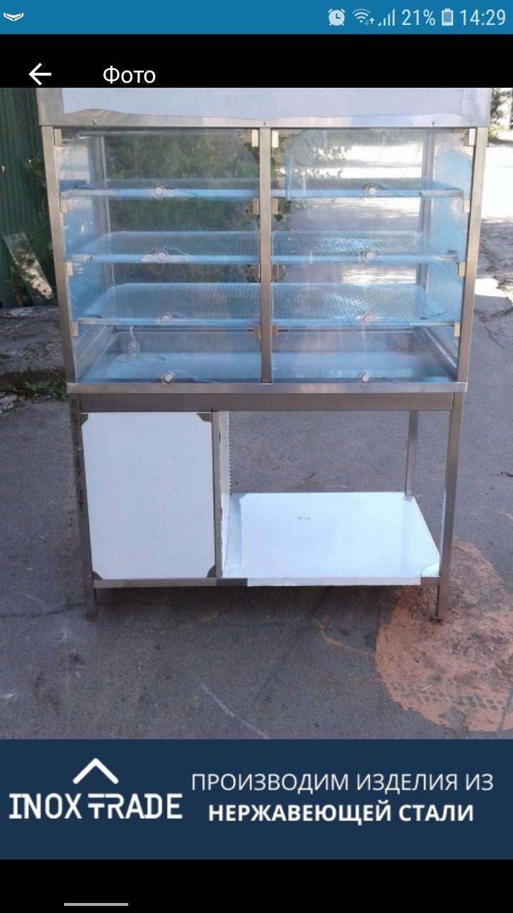Кондитерская витрина напольная - фотография
