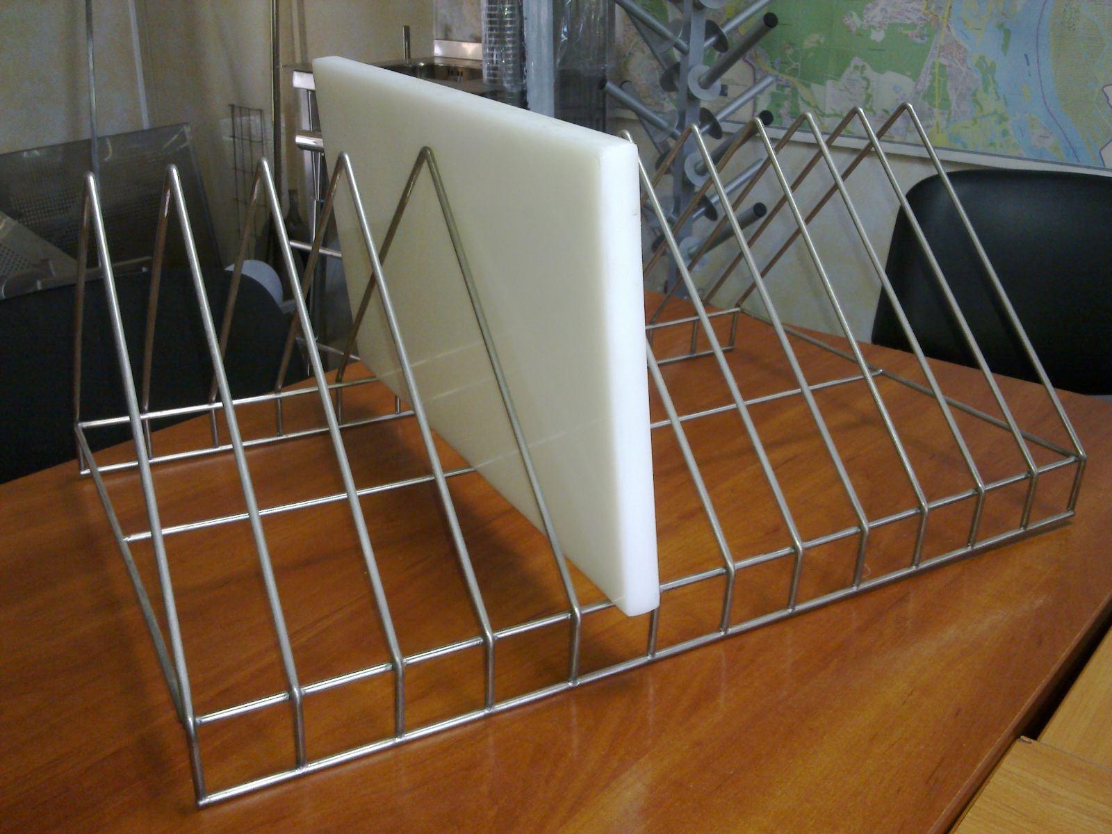 Полка для сушки посуды открытая (800 x 300 x 350) - фотография №6