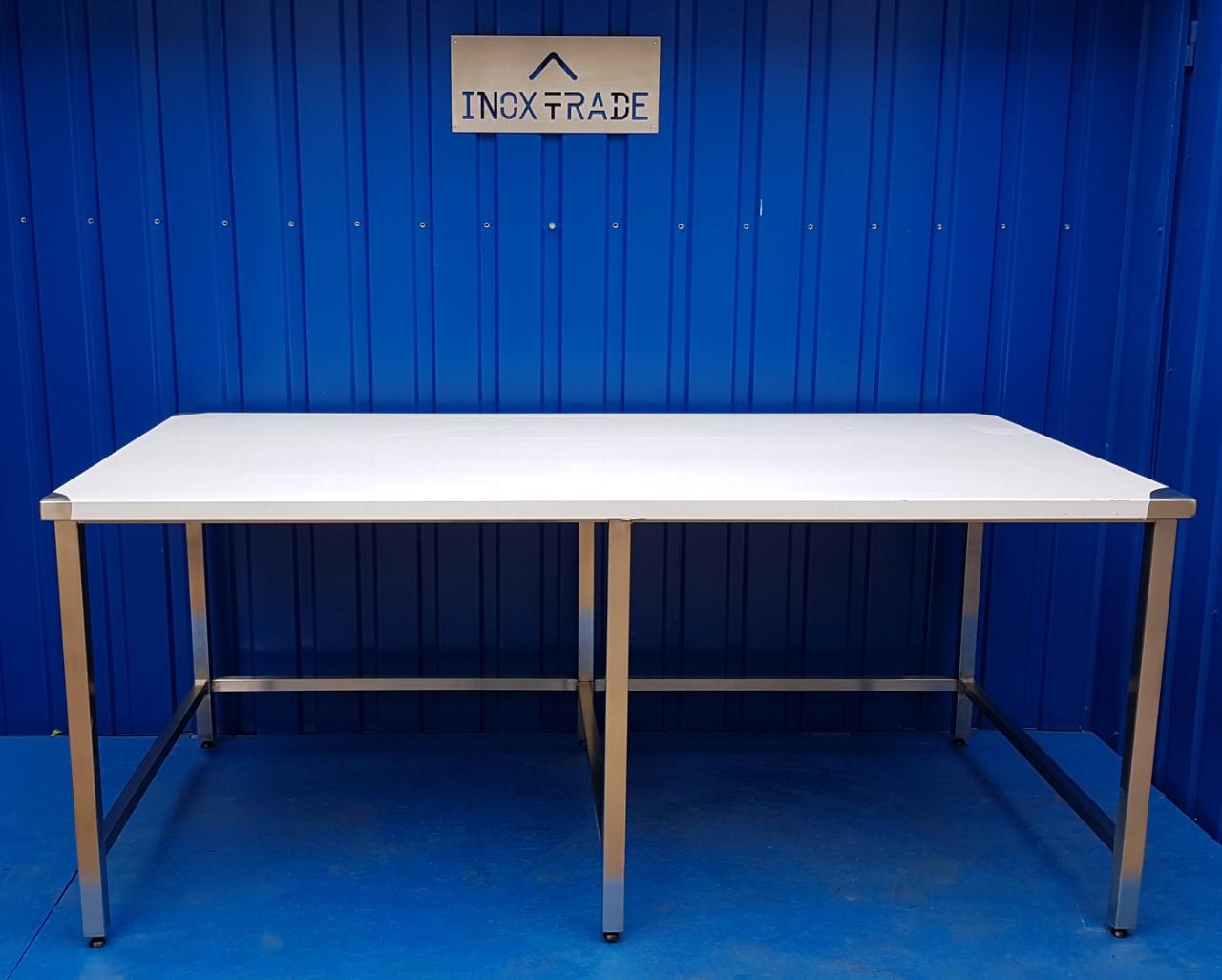 Стол производственный нейтральный 600мм x 600мм x 850мм - фотография