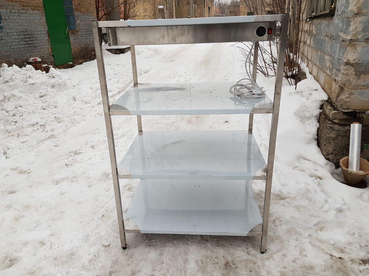 Стеллаж стационарный для сушки посуды - фотография №3