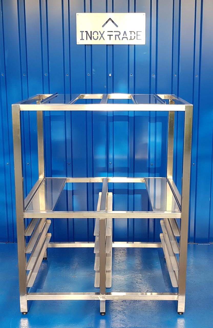 Подставка-стеллаж под печи (930х770х1190мм) - фотография