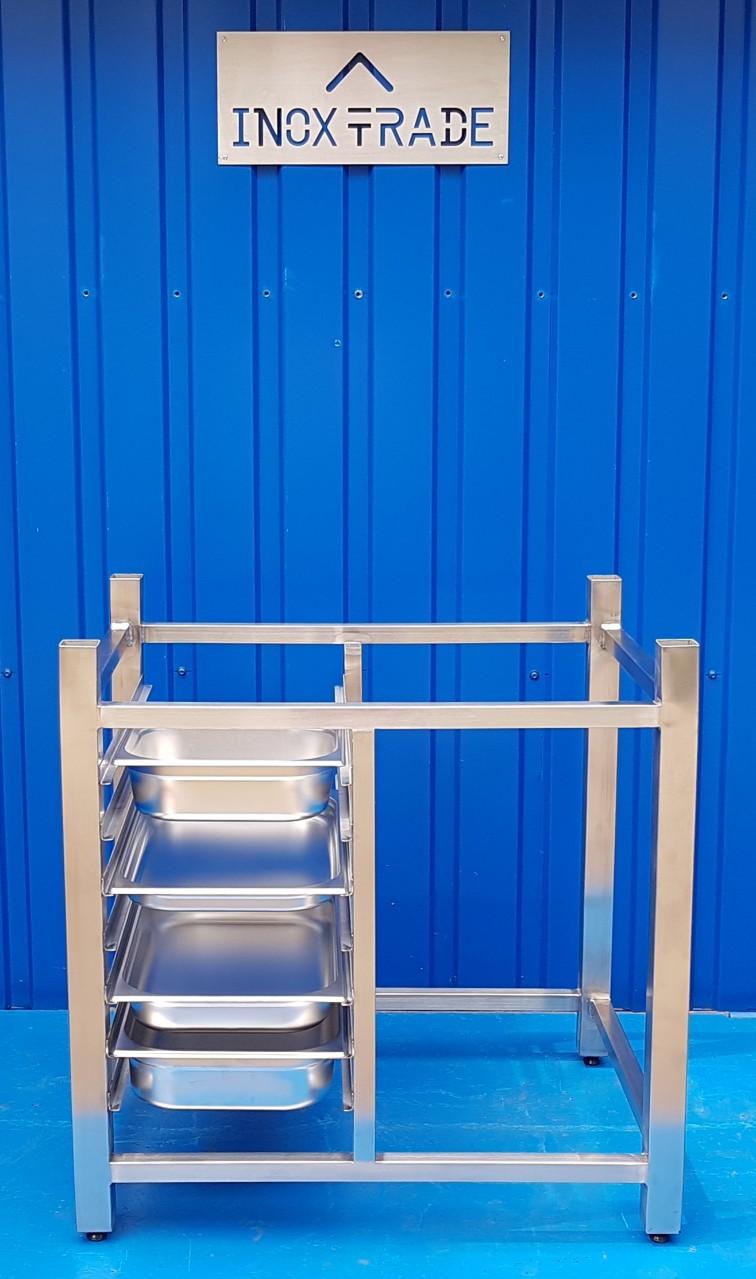 Подставка под пароконвектомат (840х660хh=850мм) - фотография