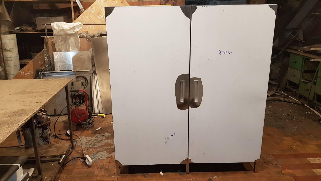Шкаф производственный напольный (1000 x 500 x 1800) - фотография №1